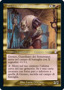 Grenzo, Guardiano dei Sotterranei