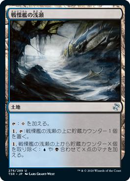 戦慄艦の浅瀬