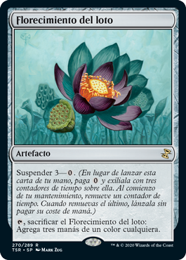 Florecimiento del loto
