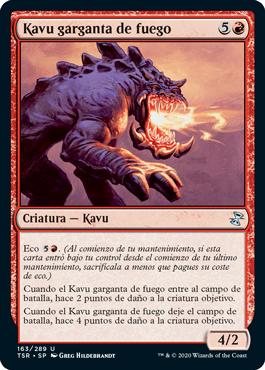 Kavu garganta de fuego