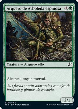 Arquero de Arboleda espinosa