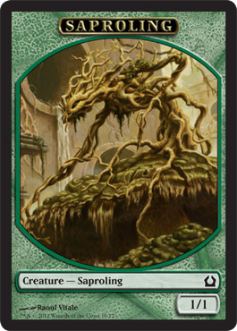 Return to Ravnica Saproling Token