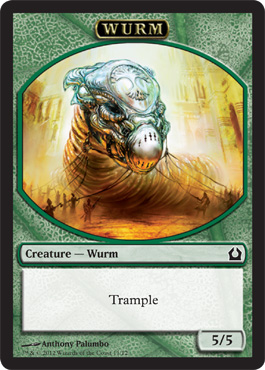 Return to Ravnica Wurm Token