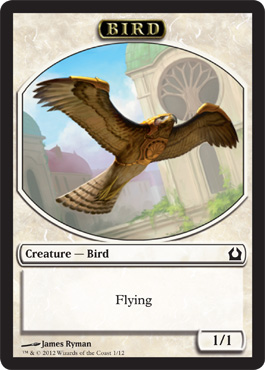 Return to Ravnica Bird Token