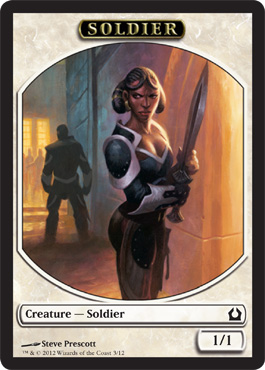 Return to Ravnica Soldier Token