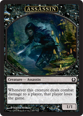 Return to Ravnica Assassin Token