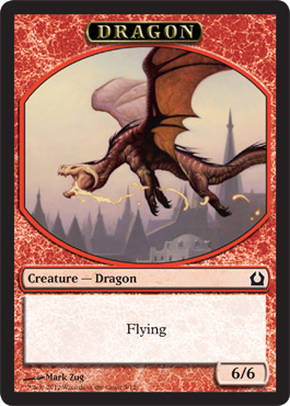 Return to Ravnica Dragon Token