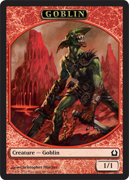 Return to Ravnica Goblin Token