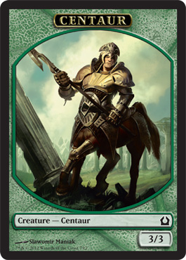 Return to Ravnica Centaur Token