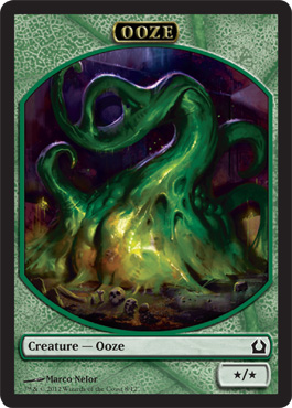 Return to Ravnica Ooze Token