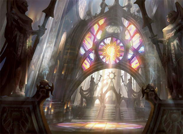Godless Shrine Gatecrash Art Gatecrash Godless Shrine  Art