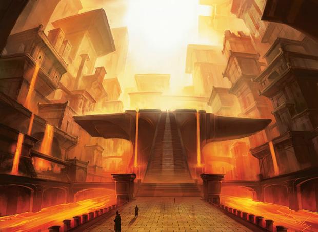 Godless Shrine Gatecrash Art Shocklands: Then and N...