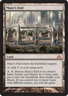 1197 mazes end 2 Magic: the Gathering Dragons Maze Prerelease April 27th & April 28th