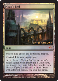 1197 prm mazes end Magic: the Gathering Dragons Maze Prerelease April 27th & April 28th