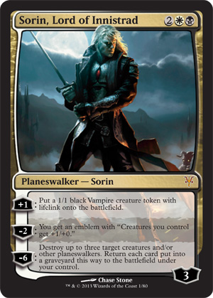 MTG Realm: Sorin vs. Tibalt Spoiler Planeswalker