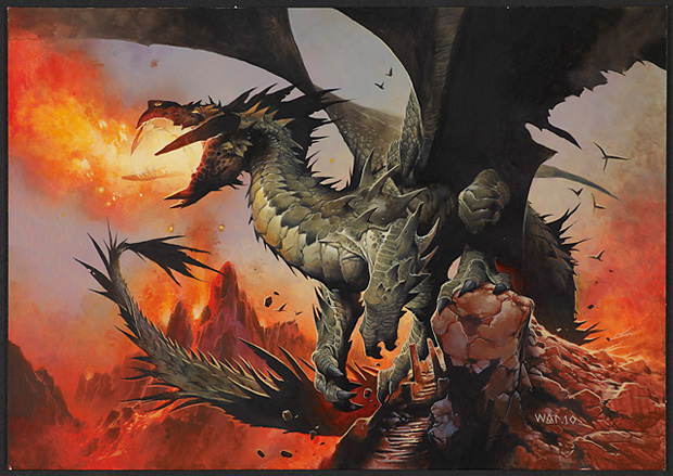 MTG : Duel Decks: Knights vs. Dragons 556_6k1exrvuh3_art