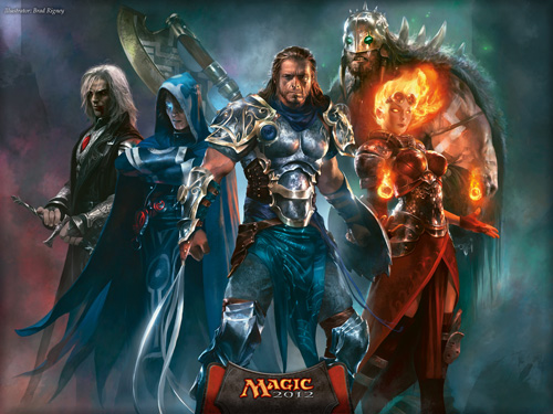 Magic 2012 Planeswalkers