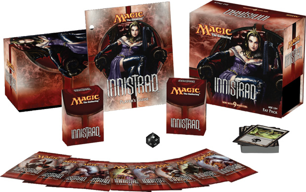 Innistrad Fat Pack Contents