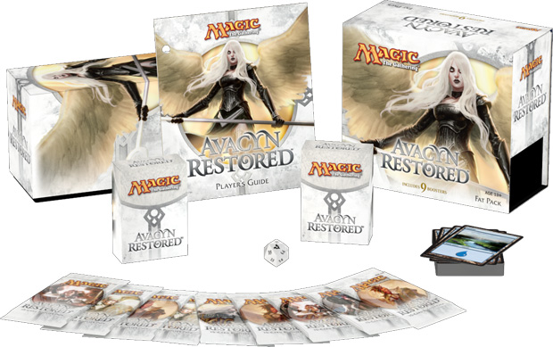 Avacyn Restored Fat Pack Contents