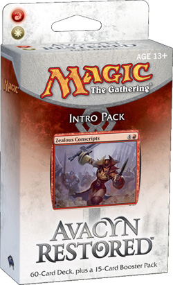 Magic the Gathering Avacyn Restored Intro Pack: Fiery Dawn