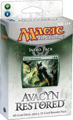 Magic the Gathering Avacyn Restored Intro Pack: Bound by Strength