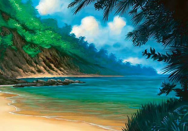 Report: Godslayer Campaign 968_Tropical_Island