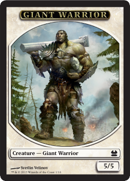 Giant Warrior 5/5