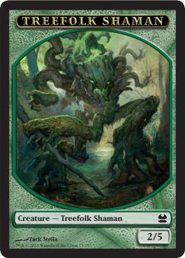 Treefolk Shaman 2/5