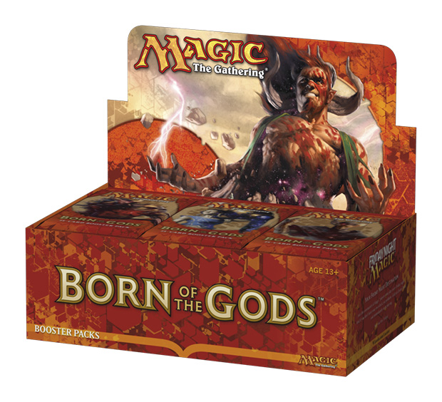 Wizards of the Coast: MTG Born of the Gods Boosters