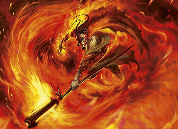 Pyromancer Mtg Pyromancer's swath Young Pyromancer