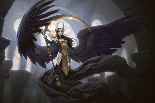 Orzhov angels carry their own dark allegiances with pride.