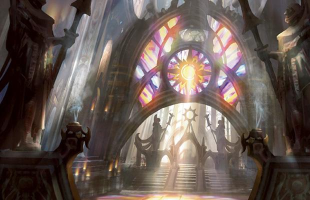 Godless Shrine Gatecrash Art Godless Shrine  Art by Cliff