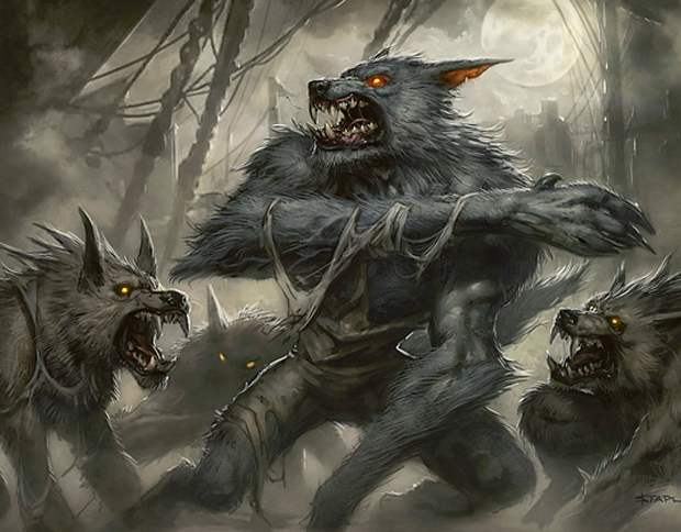 how to become a werewolf spell