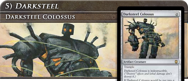 The first time most of us saw Darksteel Colossus it wasn't