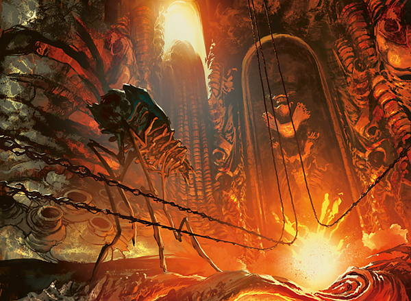 A Planeswalker's Guide to New Phyrexia: The Quiet Furnace ... Planeswalker S Guide To Mirrodin