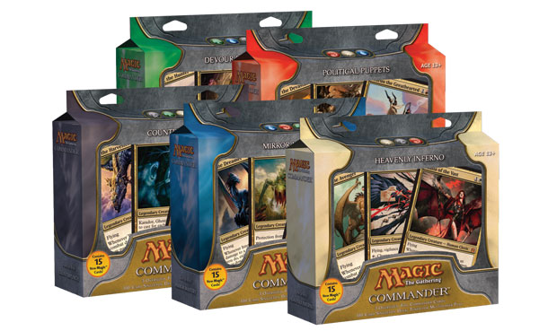Magic: The Gathering Commander Rules : Wizards of the Coast Planeswalker Starter Decks