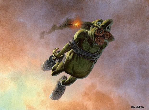 Krenko's Army of Green Men - Dies to Removal
