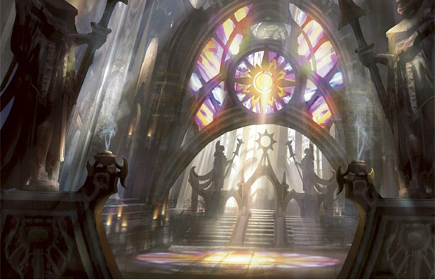 Ravnica's largest cathedral is also its most ominous.