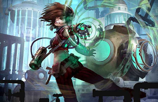 With Science Warhammer Fantasy Mad Scientist Quest: MAGIC: THE GATHERING