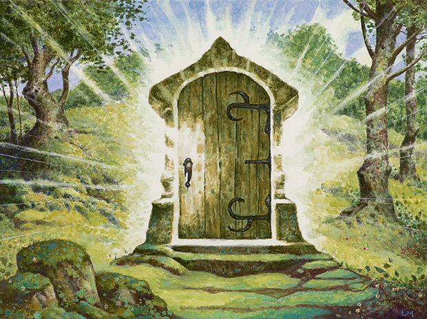 The path of bravery magic the gathering for Door of destinies