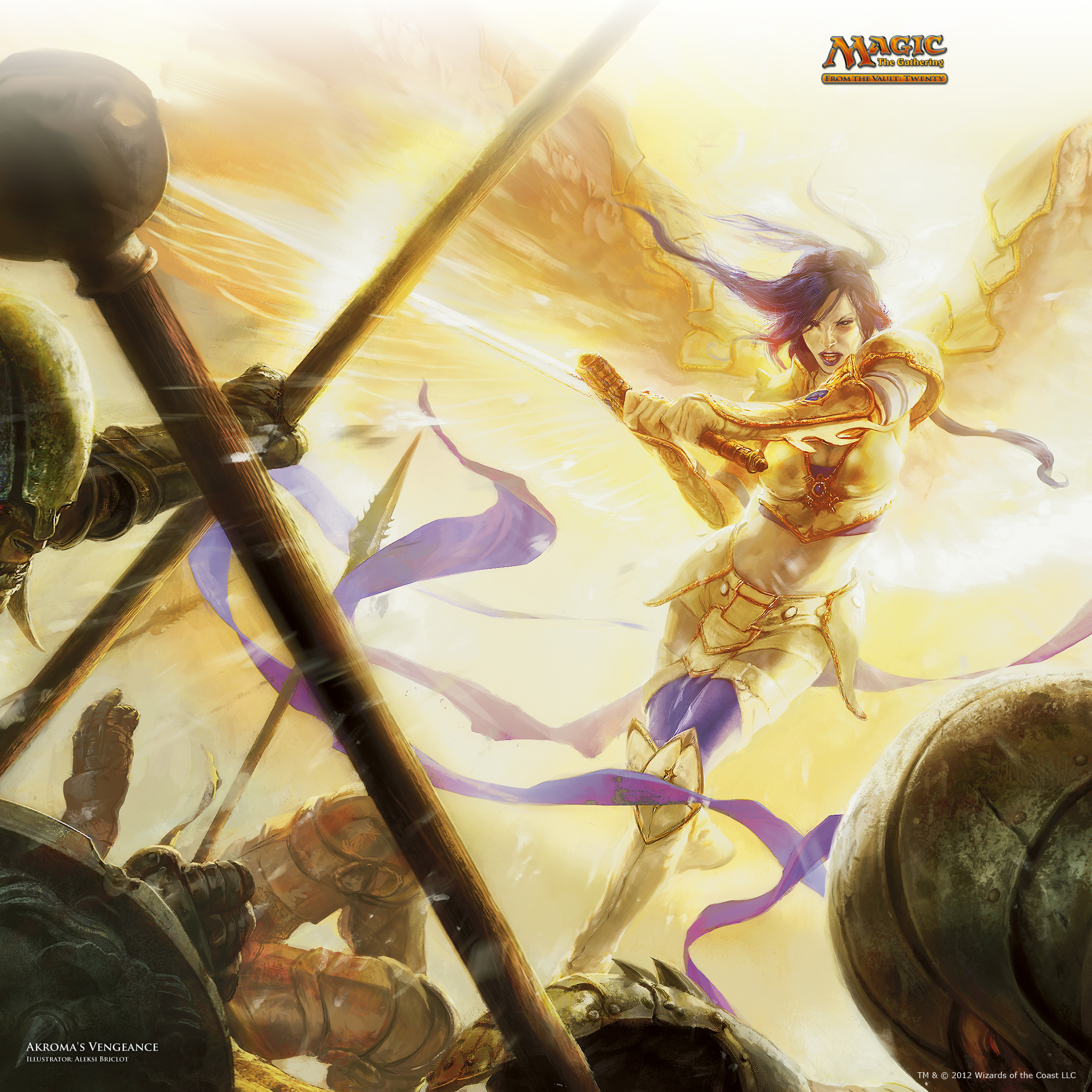 Wallpaper of the Week: Akroma's Vengeance | MAGIC: THE ...
