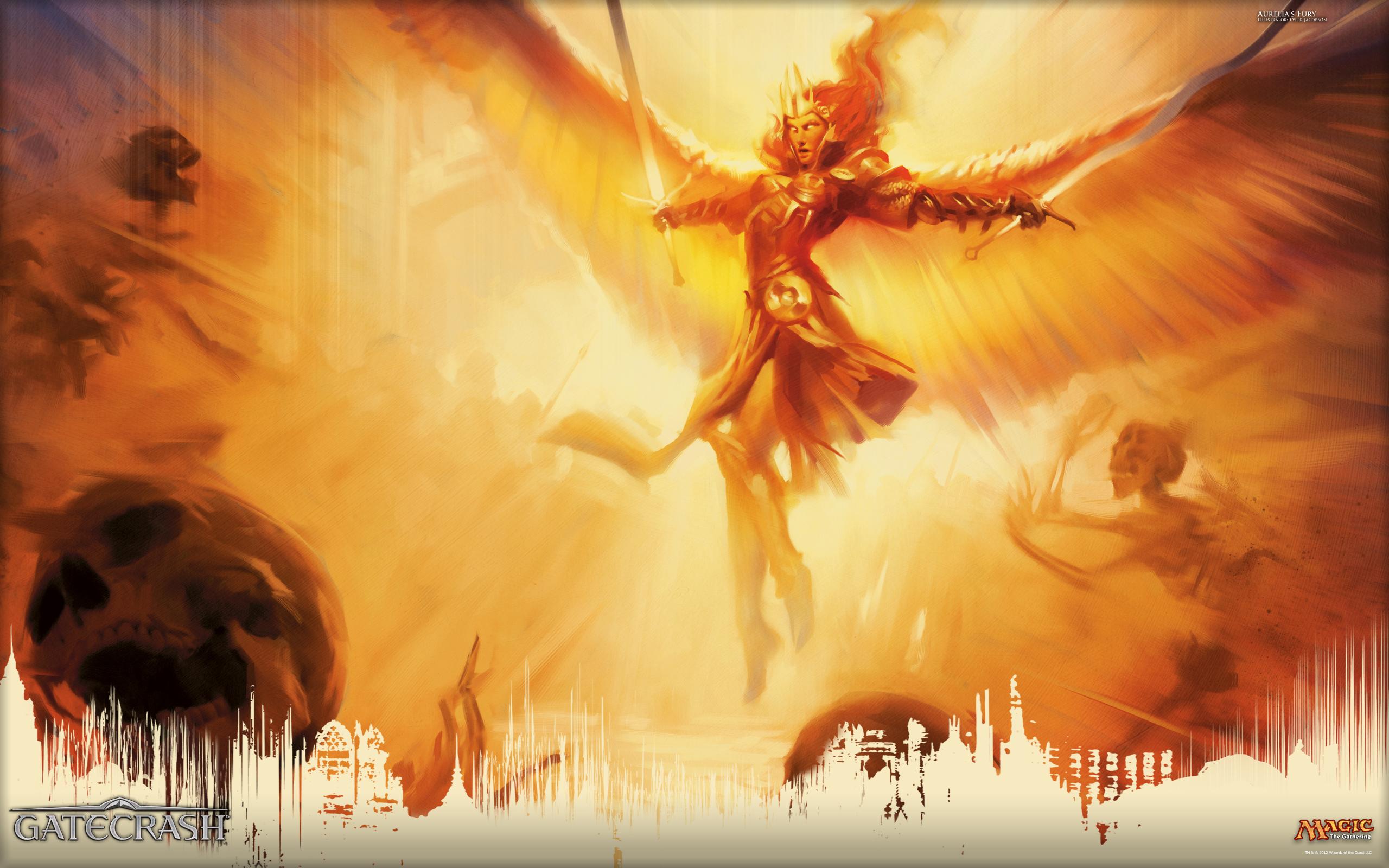 Wallpaper Of The Week Aurelia S Fury Magic The Gathering