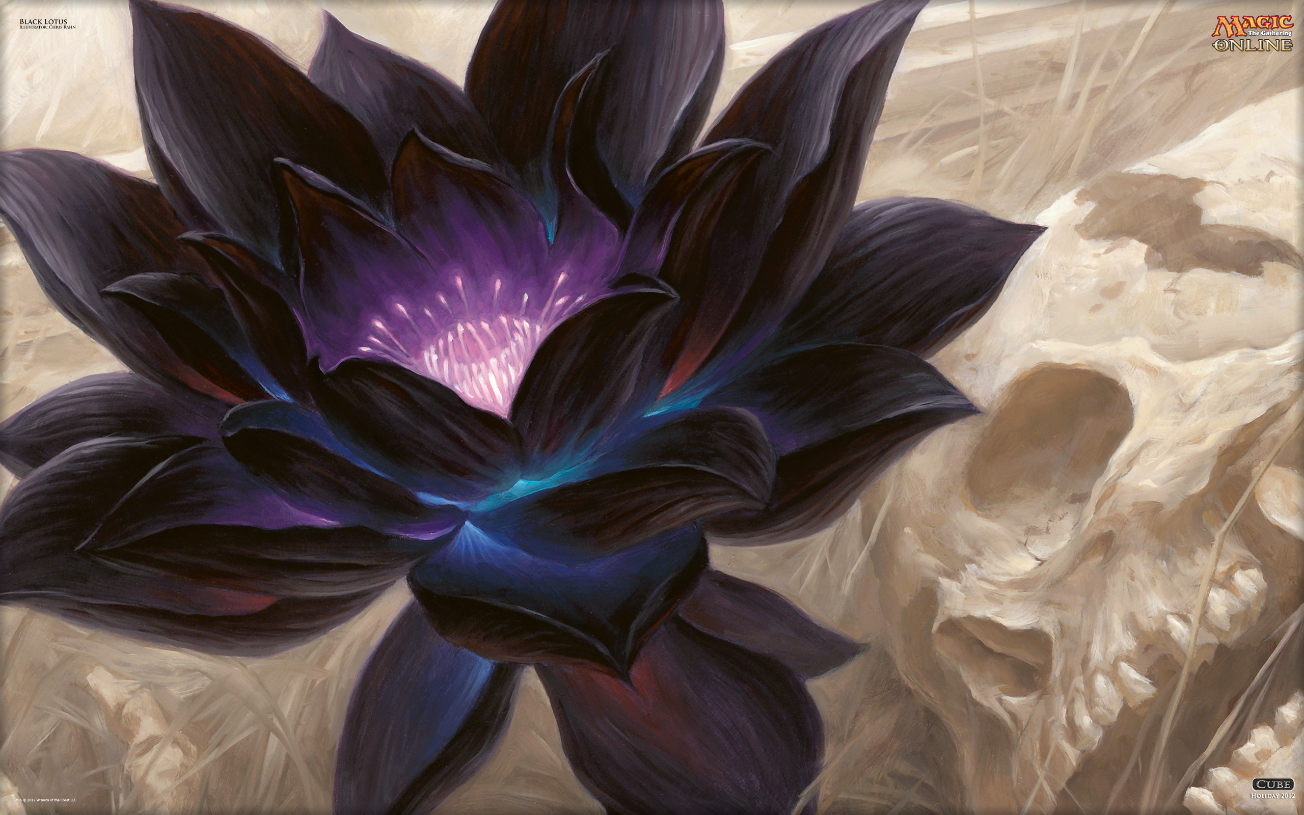 Wallpaper of the Day Black Lotus