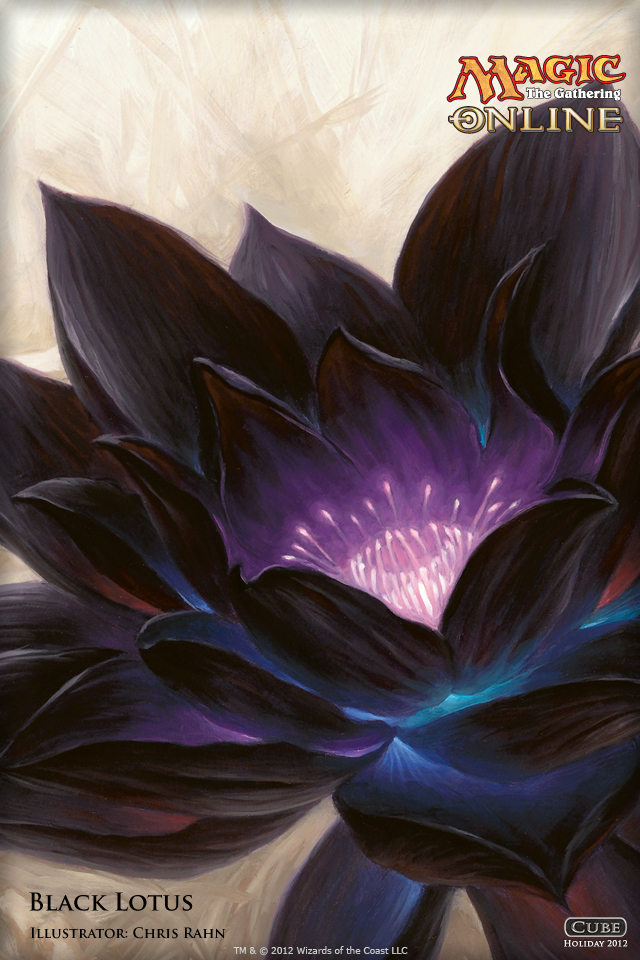 Wallpaper Of The Day Black Lotus Magic The Gathering