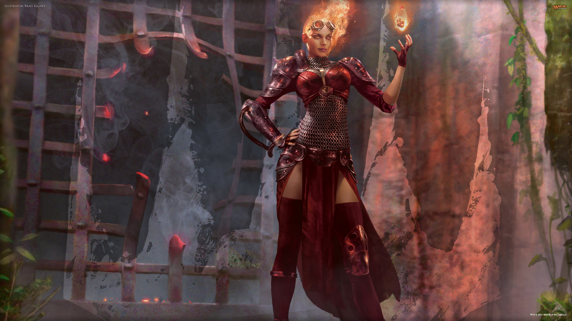 Wallpaper of the Week: Chandra | MAGIC: THE GATHERING Planeswalker Rules