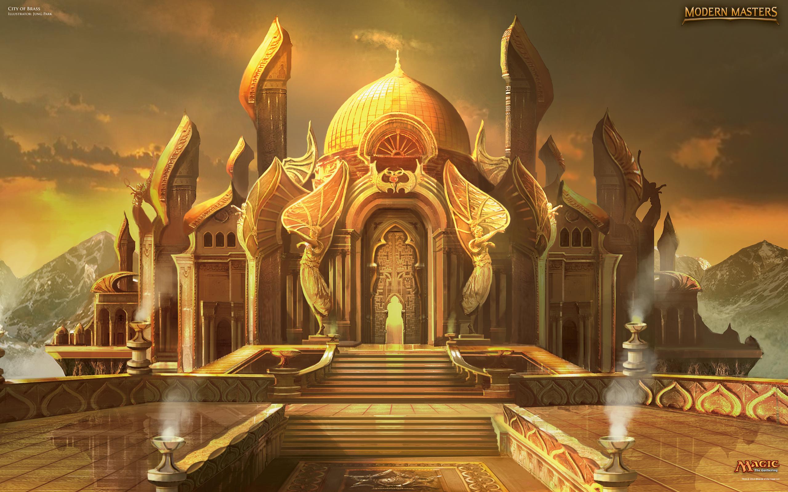 Wallpaper of the Week: City of Brass : Daily MTG : Magic ... | 2560 x 1600 jpeg 2538kB