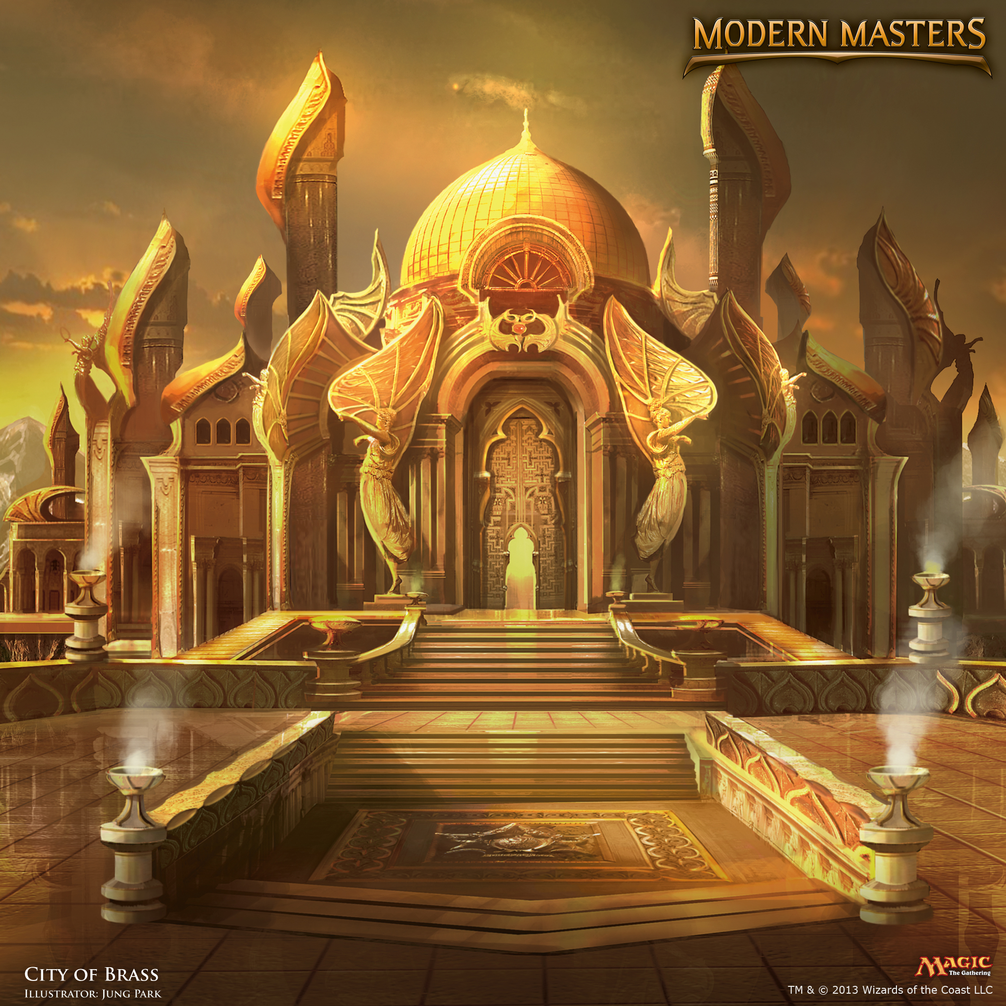 Wallpaper Of The Week City Of Brass Magic The Gathering