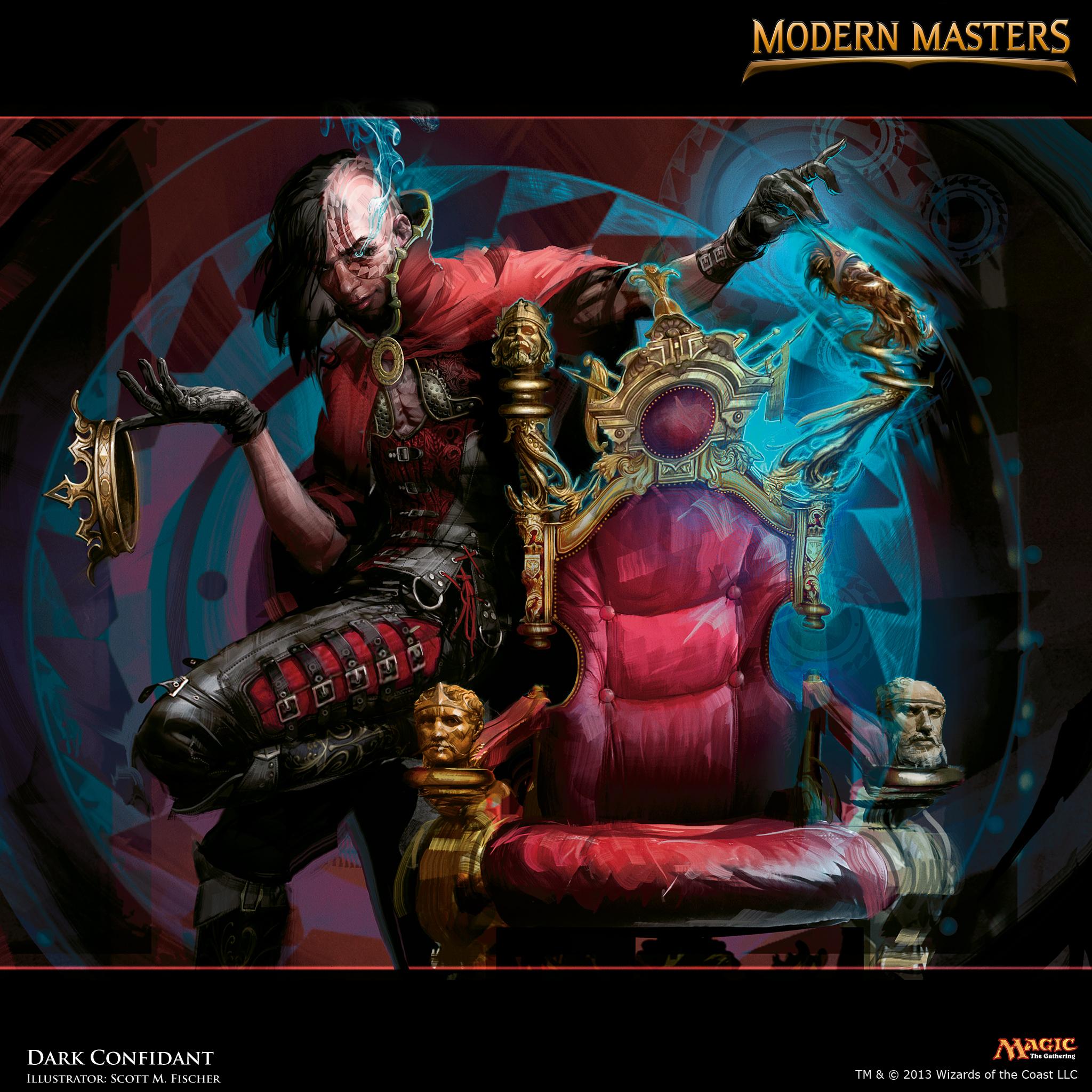 Kalonian Hydra Mtg Dark Confidant :...