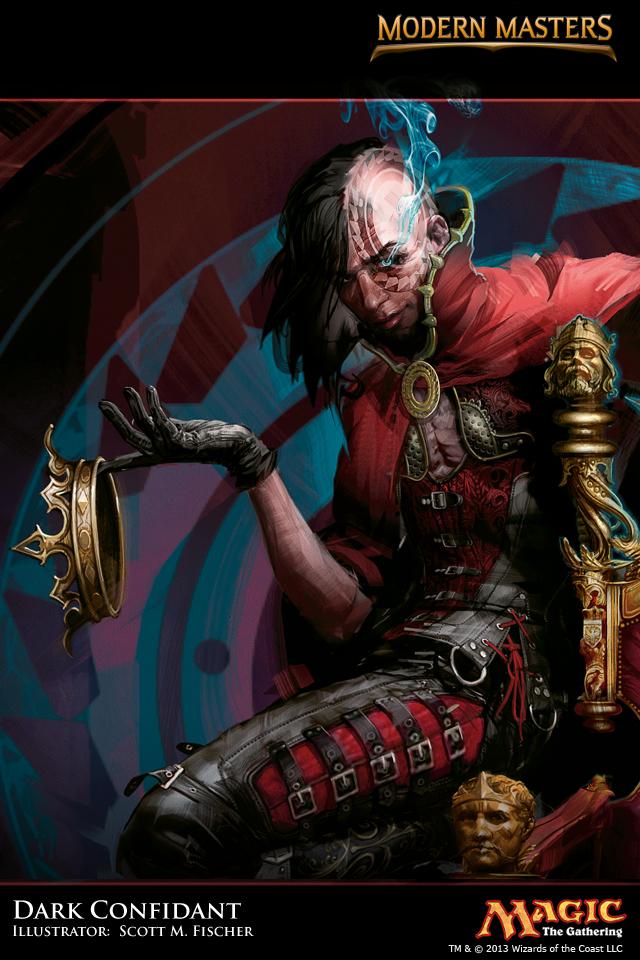 Wallpaper of the Week: Dark Confidant | MAGIC: THE GATHERING Dark Confidant Modern Masters