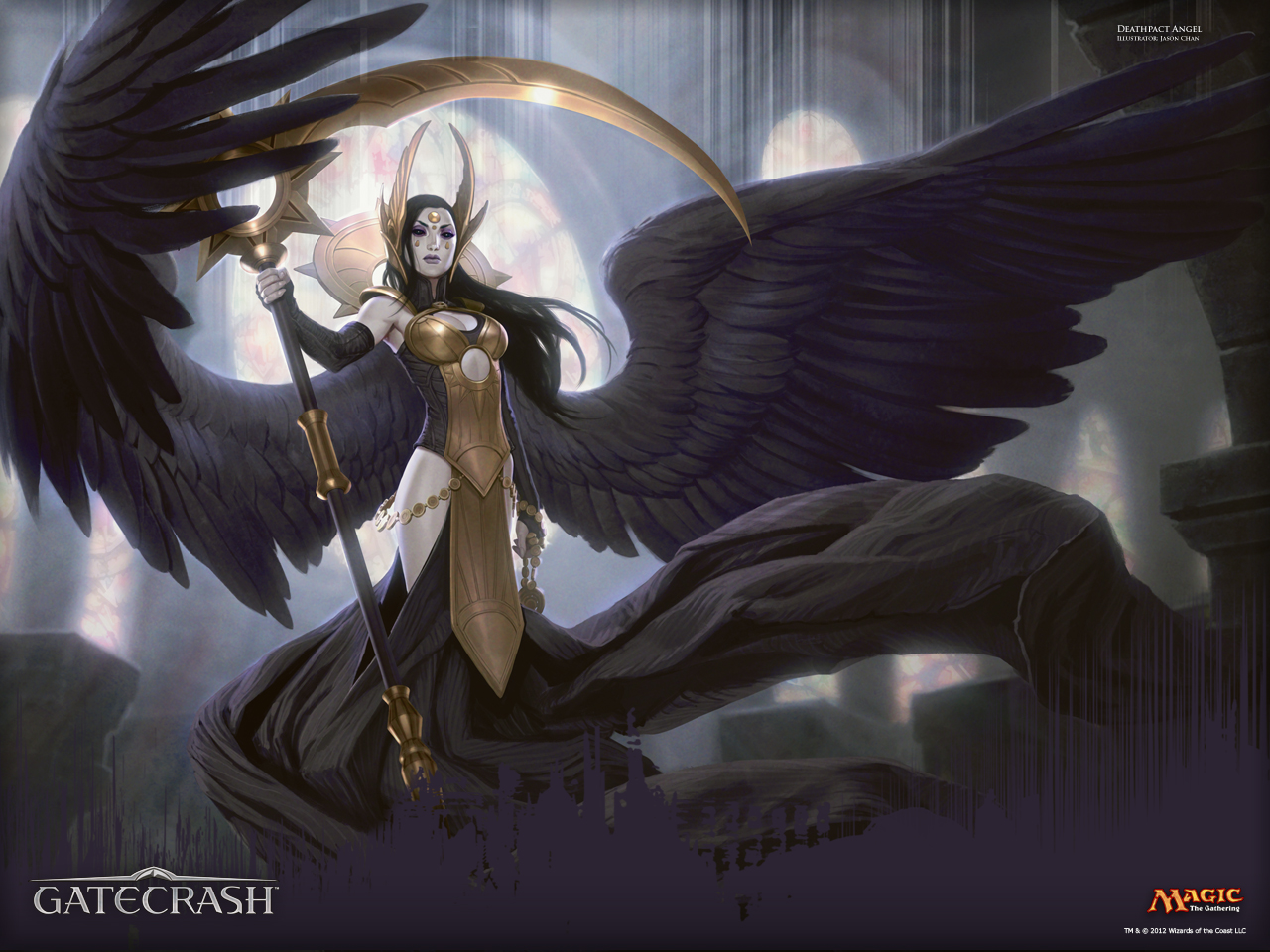 Wallpaper Of The Week Deathpact Angel